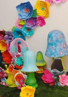 Trolls Birthday Party Ideas | Photo 1 of 20