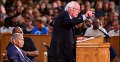 """Aug 23, 2017 - As Trump Raged in Phoenix, Sanders and Conyers Offered Vision for a Better Nation -   """"If you spent two minutes watching Trump, spend two watching this."""""""
