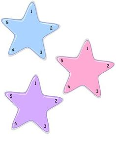 Reward System.......FREE.....You can use these for good behavior or for a learning tool. Add stickers to the numbers on the stars and when it is full the child can get a reward or just keep the star.