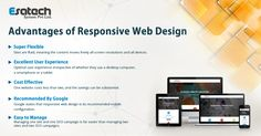 Offering optimum user experience on all screen sizes is the key for gaining better visibility of your #website. Hence, focusing on responsive #webdesign is the need of the hour. Talk to the leading web design company to realise the advantages of responsive web design.
