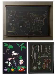 I want to make this map and keep track of the places I've been. Maybe add pictures in magnet form...