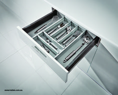 Clever Kitchen Storage, New Kitchen, Drawers, Home, Drawer, Chest Of Drawers, Haus, Homes, Houses