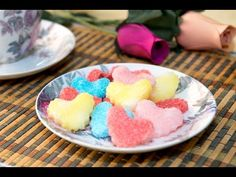 Figuras de Azucar con Forma de Corazón para Decoracion Reposteria - YouTube