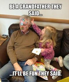 Be a grandfather