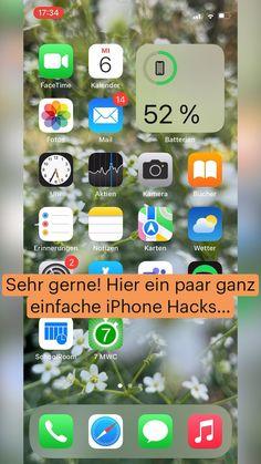 Einfache und coole iPhone Hacks