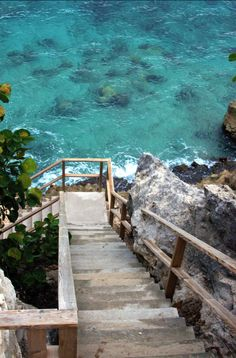 stairway to the sea / Bou'i Seru, Curacao (Caribbean)