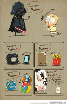 I am your father…