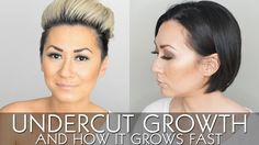 Undercut growth and how to grow it fast by tiffanyelena.com. How to grow out an undercut.