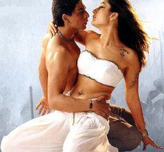 shahrukh khan news   celebrity glamour: Shahrukh Khan to lip-lock Kareena Kapoor in Ra. One
