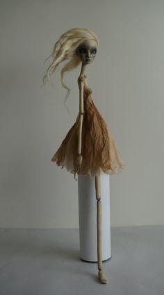 H hallows Hadrianne....OOAK Art Doll by burymebaubles on Etsy