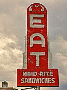 Maid-Rite....one of the greatest sandwiches of all time. Maid-Rite original Iowa creation!