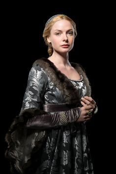 """The White Queen"" (Elizabeth Woodville played by Rebecca Ferguson) 