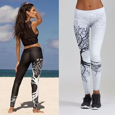Women Printed Sports Yoga Workout Gym Fitness Exercise Athletic leggings with beautiful fit Yoga Fitness, Legging Fitness, Legging Sport, Sport Pants, Sports Leggings, Workout Fitness, Yoga Gym, Cycling Workout, Fitness Women