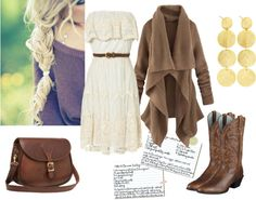 """Nice Country Fall Outfit"" by natihasi on Polyvore"