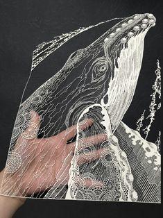 Stylo 3d, Pen Illustration, 3d Pen, Pen Art, Whales, Pink Fashion, Fabric Art, Cute Art, Art Blog
