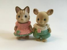 PDF Pattern for Sister Critter crochet pattern collection.