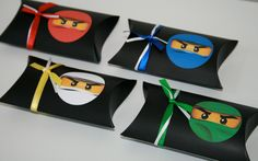 Ninjago Favor Box. $15.00, via Etsy.