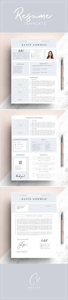 Free Cover Letter For Resume Interesting Modern Resume Template  Free Cover Letter For Word  Ai  Psd  Diy .