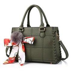 #EricDress - #EricDress Ericdress Modern Plaid Embossed Motorcycle Handbag - AdoreWe.com