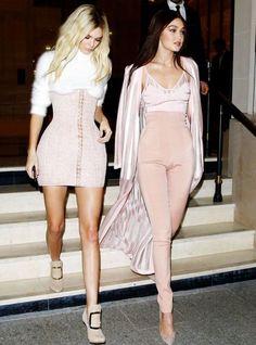 Celeb style twinsies!