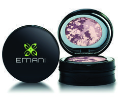 EMANI Mosaic Eye Shadow, Bold Shades. 3 Shades. Get a custom, attention-grabbing look with Emani Mosaic Eye Shadow. Available in three rich colors, the all-natural, mineral formula goes on light and lasts all day to provide you with sexy, striking eyes.
