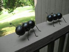 Golf ball ants! Cute!!