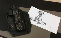 Mjolnir, kydex holster. Custom 1911 Holster