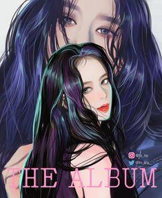 Kpop Anime, Blackpink Poster, Lisa Blackpink Wallpaper, Kpop Drawings, Applis Photo, Wow Art, Black Pink Kpop, Blackpink Photos, Pink Art