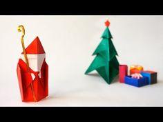 Origami Saint Nicholas :: Santa :: Papá Noel. Enjoyed by www.mygrowingtraditions.com