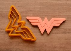 Wonder Woman Logo Cookie Cutter by CookieCutters4U on Etsy