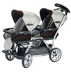 Peg-Perego Duette SW twin stroller review: We purchased this twin stroller because it functions from the newborn stage right through the toddler stage and we have been very pleased with it.  The