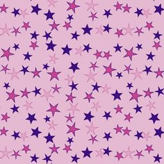 Simple Stars 6 fabric by animotaxis on Spoonflower - custom fabric