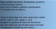 Poesia Silencio Literatura