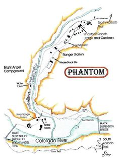 Phantom Ranch - Grand Canyon (hiked about 11 miles there and then back in a 30 hr period...about 22 miles. June 2012)