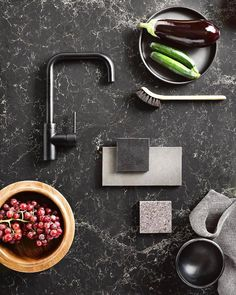 Heres a flat lay for your Wednesday! Featuring the Meir traditional kitchen mixer in matte black. Styled by Juliette Wanty for Home Style Magazine. Photographed by W H Fenwick, Nic Fletcher & Dessein Parke. Bath Mixer, Kitchen Mixer, Kitchen Design Open, Open Kitchen, Kitchen Designs, Wusthof Classic, Black Taps, Round Kitchen, Interior Design Magazine