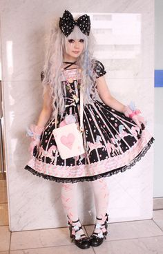Carousel dress, lolita style x omg i love everything about this