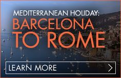 Grades: 9–12 and College 9–12 traveling: December 26, 2013–January 4, 2014 College traveling: December 12–21, 2013 Duration: 10 days Explore the heart of the Mediterranean and celebrate the holidays in a way most only dream of. From traditional Christmas markets to beautiful flamenco dancers, from the Vatican to the blue waters of the French Riviera, ring in the New Year with the perfect Mediterranean holiday.