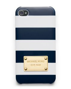 Striped iPhone5  Cover by MICHAEL Michael Kors at Neiman Marcus.