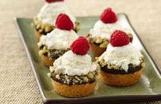 These cute little cookie cups are the best bowl replacement. (Because you can eat them.)