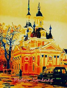 Paisajes, escenas y momentos: Una iglesia de Pärnu. Estonia