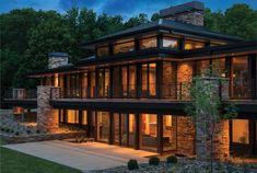 Lake Charlotte Luxus von Charles R. Stinson Architektur mit Hage Homes - #Architektur #Charles #Charlotte #Hage #Homes #Lake #Luxus #mit #Stinson #von