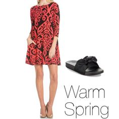 How to Wear Black Warm Spring