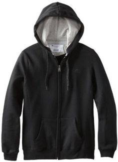 Champion Women's Eco Fleece Jacket, Black, Medium  Champion $18.66