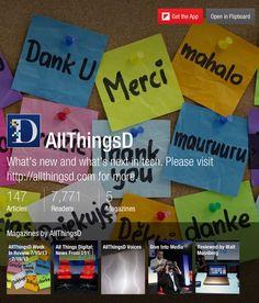 AllThingsD - Flipboard Magazines #tech #articles