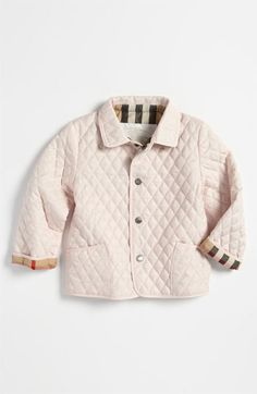 Burberry Quilted Jacket (Toddler) available at Nordstrom