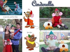 Group Costumes: Cinderella, Jaq, Gus-Gus, and the Duke