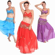 >> Click to Buy << Belly Dance Costume Bollywood Costume Indian Dress Bellydance Dress Womens Belly Dancing Costume Sets Tribal Skirt 11 Color #Affiliate