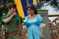 Peter and Wendy from Peter Pan