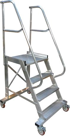 These Are Cantilever Rolling Ladders They Are Used To