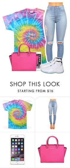 """9/1/15"" by dopest-queens ❤ liked on Polyvore featuring Michael Kors and NIKE"